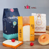 Factory Supplier Food Grade Toast Bread Take Away Packing Bag with Visible Window
