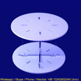 White Round Acrylic Cakes Display Stand