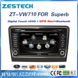 Car GPS Navigation System for VW Superb with Bt/SWC/RDS/USB/Music