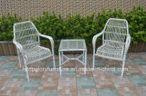 2017 New Design PE Rattan Tea Table and Chair Outdoor Furniture