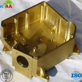 Customized 5 Axis CNC Milling Brass Electrical Motor Housing
