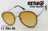 Sunglassses with Round Lens and PC Rim Kp70377