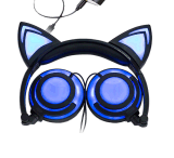 LED Light Glowing Cat Ear Headphone Hot Selling New Promotional Launched Products