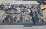 Spilt Surface Blue Limestone Walling Panel