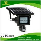 Solar Powered Floodlight PIR Motion Detection WiFi IP CCTV Camera