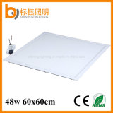 Super Thin SMD 48W 600X600mm 3000-6500k Ceiling Mounted LED Panel Lighting