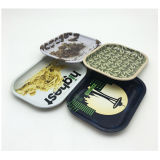 Rolling Tin Tray Custom Printing Metal Tin Container for Rolling Smoke