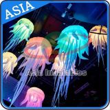 Lighting LED Inflatable Jellyfish Hanging Balloon Party Decorations with Inflatable Jellyfish