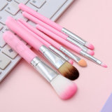 7 PCS Tin Box Cartoon Makeup Cosmetic Beauty Brush Set