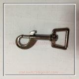 Zinc Alloy Dog Swivel Snap Hook/Wholesale Swivel Metal Hook/Lobster Clasp Snap Hook for Key Chain