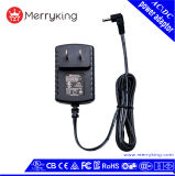 12V 1A Us Plug Switching Power AC DC Adapter with UL/cUL/FCC