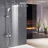 High Quality Rainfall Bathroom Bath and Shower Faucets, Exposed Rain Shower Set