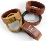 Hot Sale Wood Watch Ladies Wooden Bangle Bracelet Wrist Watches