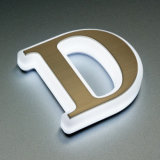 Outdoor Advertising Aluminum Acrylic Channel Letters Signs LED Channel Letters