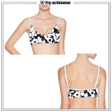 Hot Sale Color Fastness Cheerleading Sports Yoga Bra Top