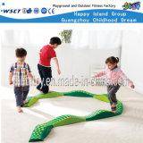 Children Play Equipment Indoor Plastic Single-Log Bridge (HF-21905)