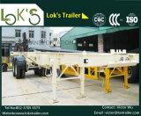 40 Feet 2 Axles Tanker Chassis Semi-Trailer / Air Suspension