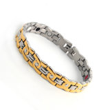 Hotsell Promotion Health Magnetic Bracelet with Gold Silver Color