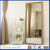 Wholesale Small Cut Size Stand Silver Mirror for Bedroom