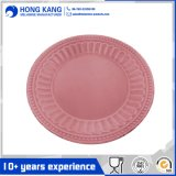 Wholesale Round Melamine Dinner Plate for Tableware