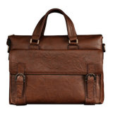 Leather Fashion Computer Laptop Tote Business Bag (MD28104)