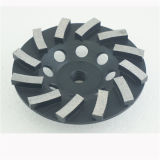 Twisted Diamond Cup Grinding Wheel for Concrete