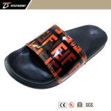 Hot Cheap PU Upper EVA Sole Man Chinese Slipper Making, Adult Pool Swim Slide 5339