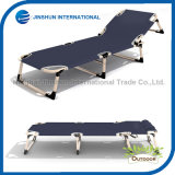 Adjustable Reclining Metal Fold Bed for Outdoor