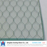 6mm, 6.5mm Clear Wired Glass Price for Building Decoration