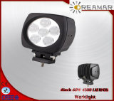 6inch 60W Auto LED Car Work Lights for 4X4 Offroad, E-MARK