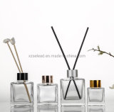 50ml 100ml 150ml 200ml Round Square Clear Dried Flowers Rattan Sticks for Reed Diffuser Bottle