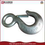 Big Size Forged H 320 Eye Hook with Latch