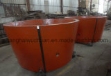 Mantle Bowl Liner Concave, Cone Crusher Wear Liner Manganese Casting Spare Parts