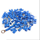 Pre-Insulated Solderless Terminal Ring Type RV Series Ferrule Connector Copper Material