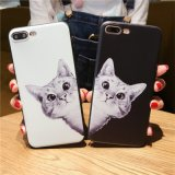 Black and White Cat Mobile/Cell Phone Cover/Case for iPhone 6/7/6plus/7plus