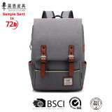 Guangzhou Factory Stocks and Without Any MOQ 15inch Fashion Designer Backpack with Leather Fashionable Waterproof Tote Business Men Bag