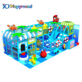 Small Ocean Theme Kids Games Indoor Playground Equipment