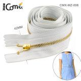 Garment Accessories Wholesale Cheap Metal Teeth Zipper Roll, Running Smooth Gold Metal Teeth Zipper Roll