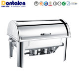 Dontalen Economic Stainless Steel Buffet Food Warmer Catering Restaurant Equipment Appliance Heater Chafing Dish Kitchenware