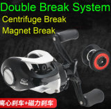 Double Breaking System Powerful Baitcasting Fishing Reel Max Drag 8kgs.