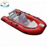 Ce Certificate Hypalon or PVC Aluminum Cheap Rib Inflatable Fishing Boat Rigid Inflatable Boats for Sale
