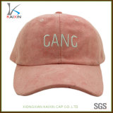 Custom High Quality Unstructured Suede Baseball Cap Promotional
