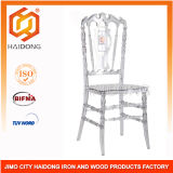 Clear Resin Royal Chair Wedding Dining Chair
