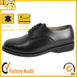 Black Genuine Leather Men Office Shoes