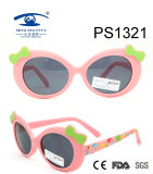 Top Selling Colorful Kid Plastic Sunglasses (PS1321)