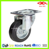 75mm Black Rubber Industrial Caster (P101-11D075X25)