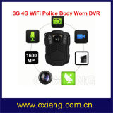 IP68 135 Degree Wide Angle Police Body Worn Cameras Support WiFi 4G 3G Bluetooth GPS