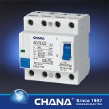 Residual Current Device with Overcurrent Protection Ce Certificate 4p RCD
