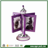 Creative Lovely Purple Wooden Combinatorial Craft Picture Frames