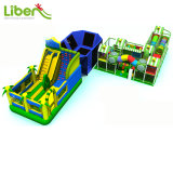 Trampoline Park Equipment Indoor Playground Equipment Inflatable Bouncer
